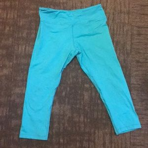 AB MFG light blue tights Medium